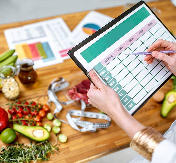 Bilan nutritionnel à Morières lès Avignon
